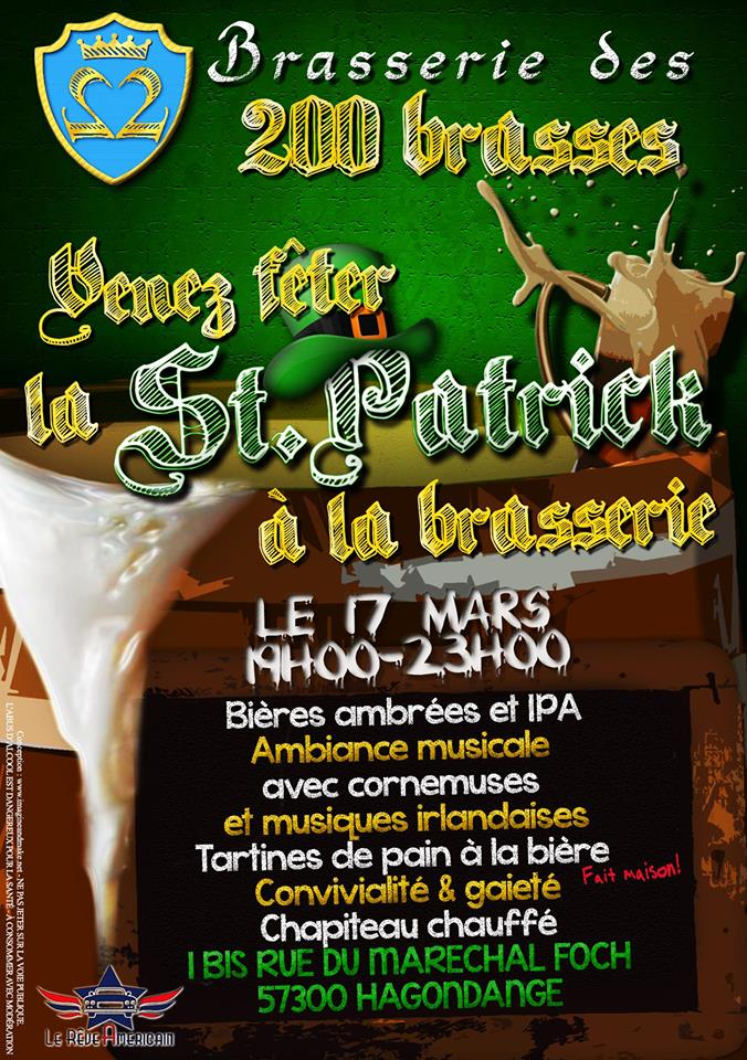 St Patrick 200 brasses